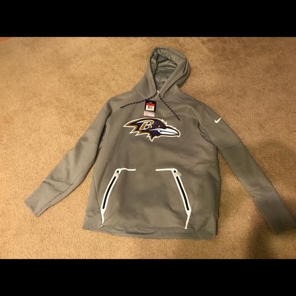 4982d14d NFL Baltimore Ravens Vapor Speed Hoodie 805805-063 NWT